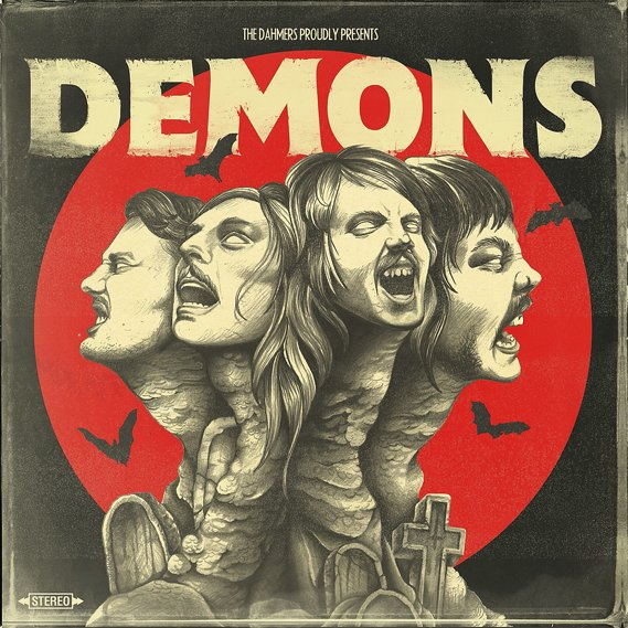 Dahmers, The - Demons LP Gold