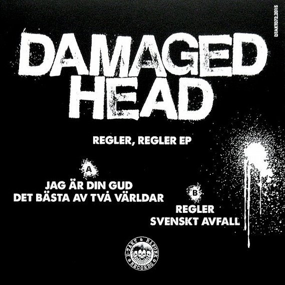 Damaged Head – Regler, Regler EP 2