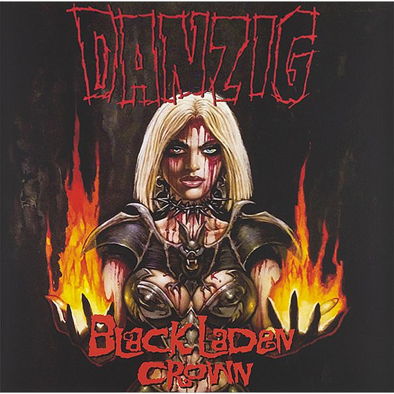 Danzig - Black Laden Crown LP Yellow