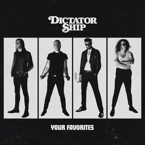 Dictator Ship - Your Favorites LP Black