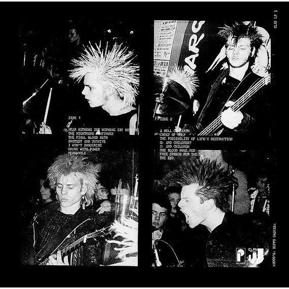 Discharge - Hear Nothing See Nothing Say Nothing LP Gatefold 2