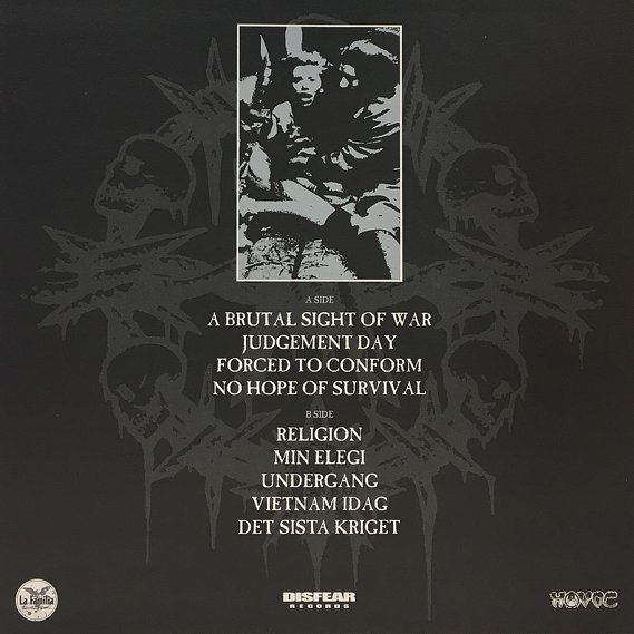 Disfear - A Brutal Sight Of War LP 2
