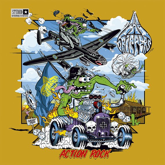 Drippers, The - Action Rock CD