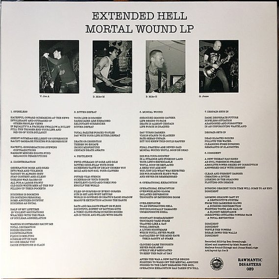Extended Hell - Mortal Wound LP 2
