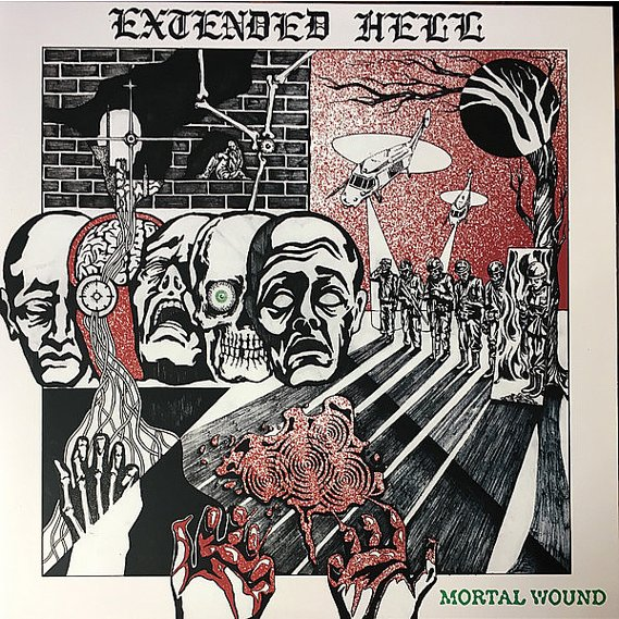 Extended Hell - Mortal Wound LP