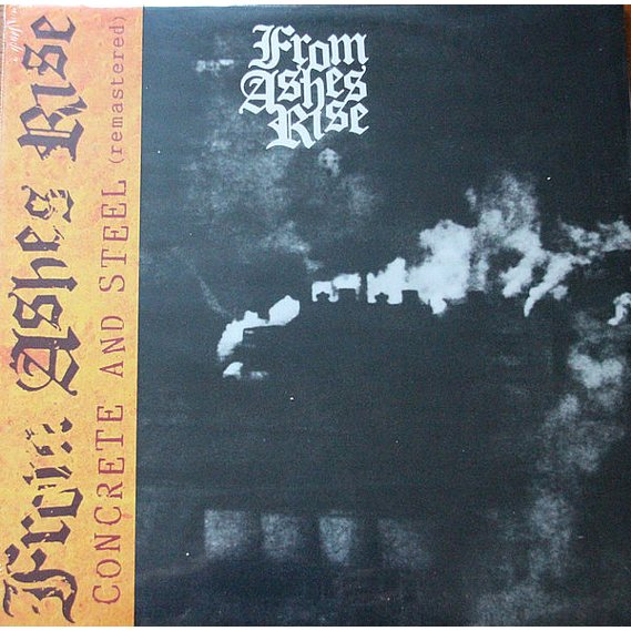 From Ashes Rise - Concrete And Steel LP