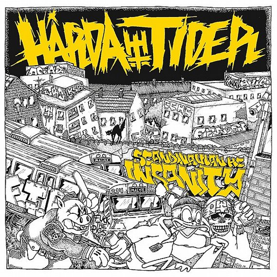 Hårda Tider - Scandinavian Hardcore Insecurity LP