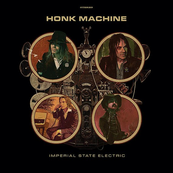 Imperial State Electric - Honk Machine LP