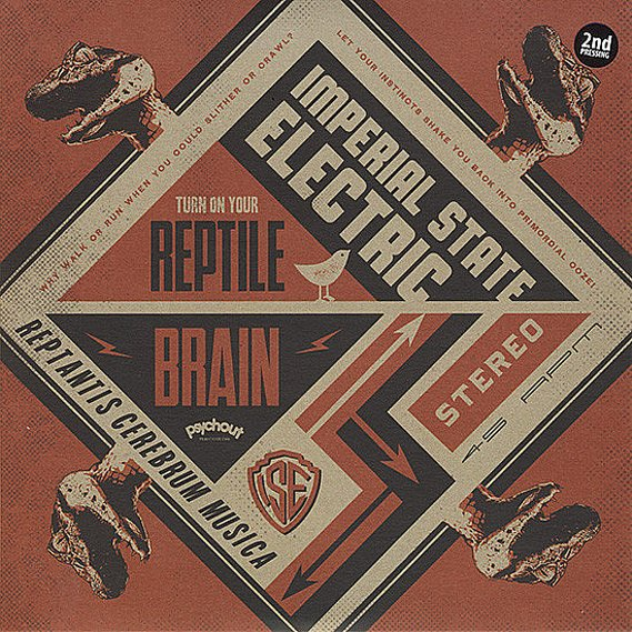 Imperial State Electric -  Reptile Brain 7""