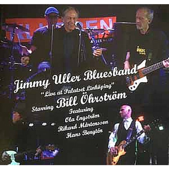Jimmy Uller Bluesband - Live at Palatset Linköping LP