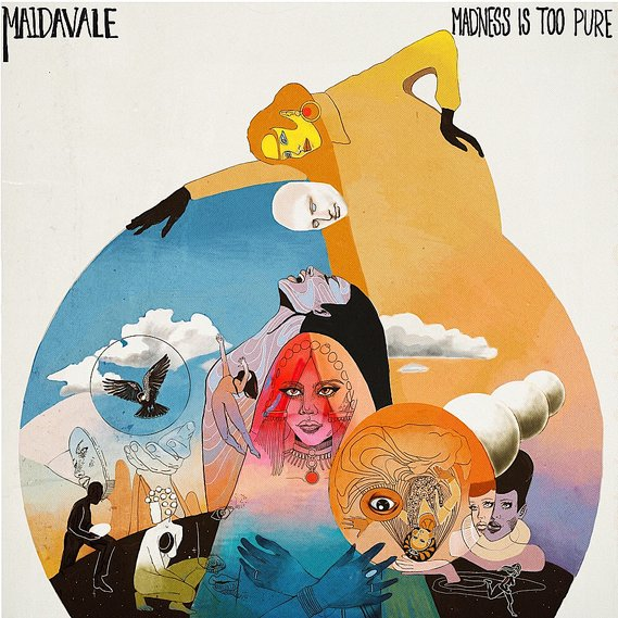 MaidaVale - Madness Is Too Pure LP Black
