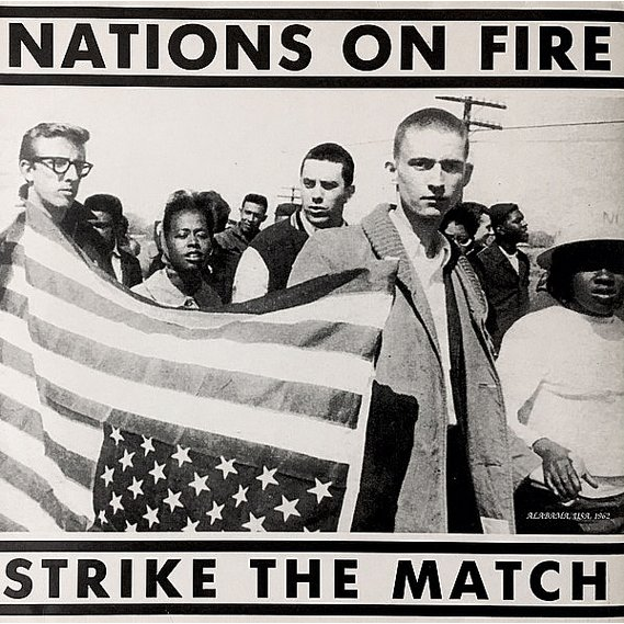 Nations On Fire - Strike The Match LP Blue