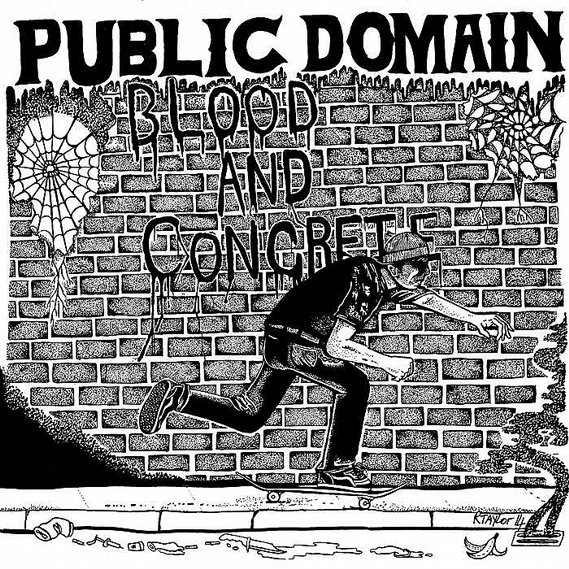 Public Domain - Blood And Concrete Lp