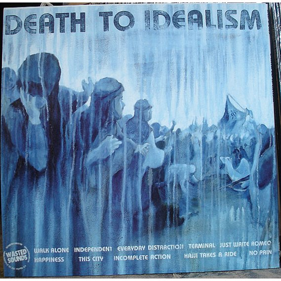 Red Dons - Death To Idealism LP 2