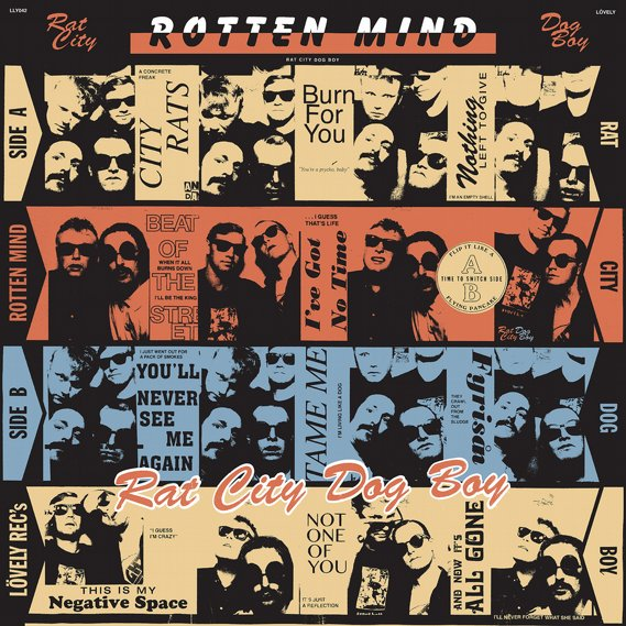 Rotten Mind - Rat City Dog Boy LP Black 2
