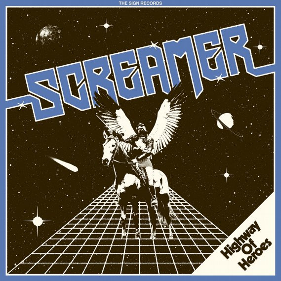 Screamer - Highway of Heroes LP Blue