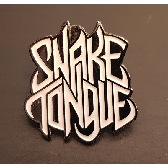Snake Tongue Metal Pin