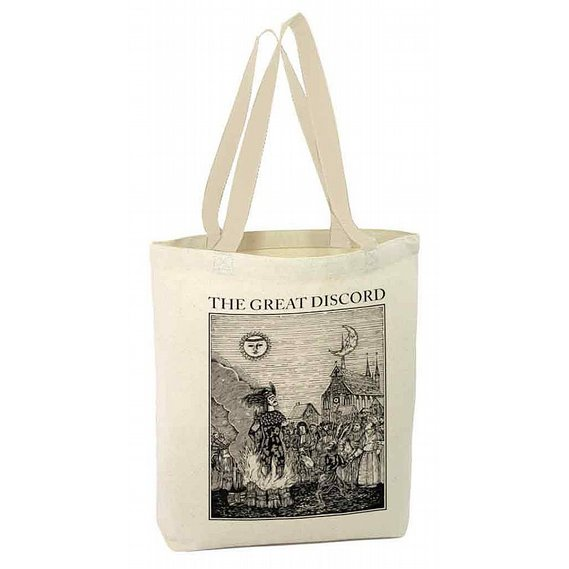 The Great Discord - Afterbirth Tote bag