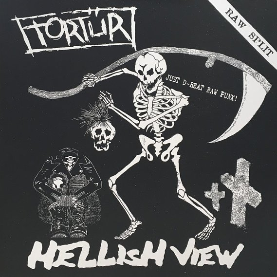 Tortür / Hellish View Raw Split LP