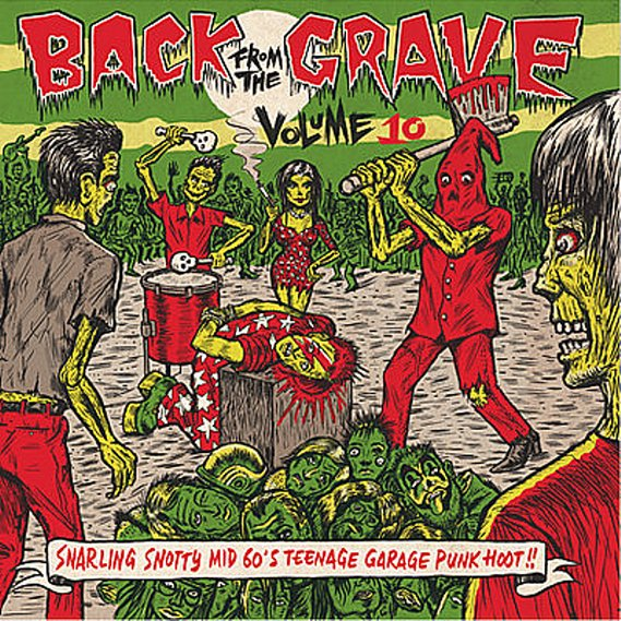 V/A - Back From The Grave Volume 10 LP