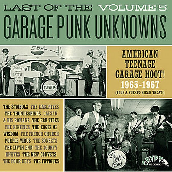 V/A - Last Of The Garage Punk Unknowns Volume 5 LP