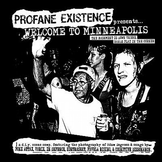 "V/A - Welcome To Minneapolis 7"" Compilation Grey Marble"