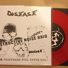 Disease - Destructive Noise Raid 7""