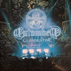 Entombed - Clandestine Live 2LP Dark Green