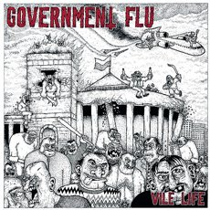 Government Flu - Vile Life LP