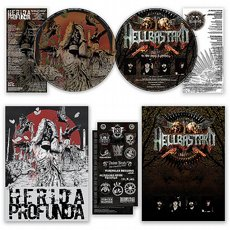 Herida Profunda / Hellbastard - Split LP Picture disc