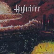 Highrider - Armageddon Rock LP Orange