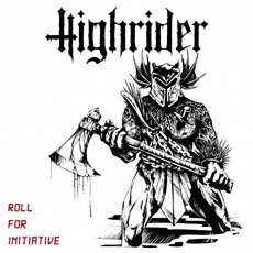 Highrider - Roll For Initiative LP Black