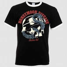 Honeymoon Disease - Electric Eel T-shirt Small