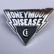 Honeymoon Disease Logo Metal Pin