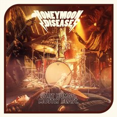 Honeymoon Disease - Part Human, Mostly Beast LP Red
