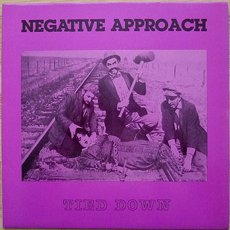 Negative Approach - Tied Down LP Purple