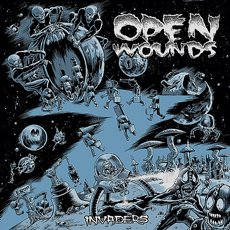 Open Wounds - Invaders LP