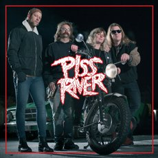 Piss River - S/T LP Red Limited Edition