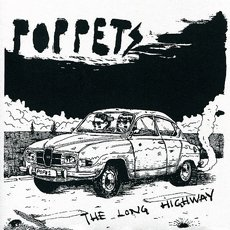 "Poppets - The Long Highway 7"" Black"