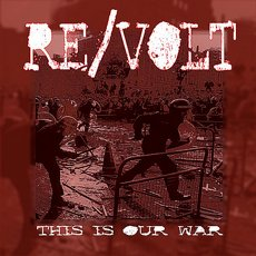 "Re/Volt - This Is Our War 7"" Black"