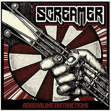 Screamer - Adrenaline Distractions LP Red/Black Vinyl