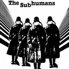 The Subhumans - S/T LP