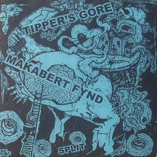 "Tipper´s Gore / Makabert Fynd Split 7"" Blue Transparent"