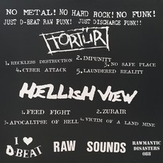 Tortür / Hellish View Raw Split LP 2 thumbnail